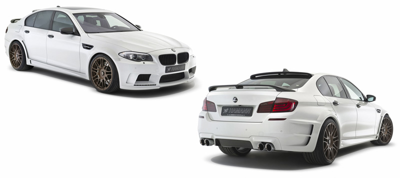 BMW 5M en Blanco Satinado